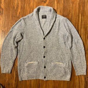 Abercrombie & Fitch men's cardigan sweater